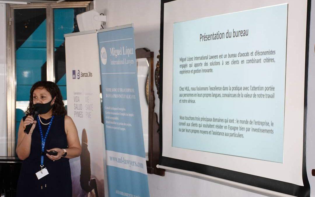 "ML Lawyers participa en ""Aperitivo a la alicantina"": reunión de empresarios francófonos"